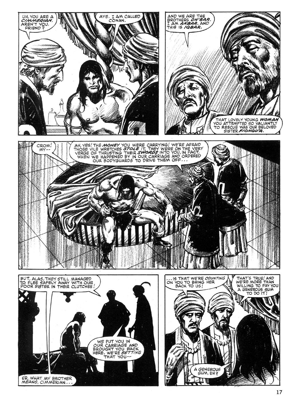 The Savage Sword Of Conan Issue #89 #90 - English 17
