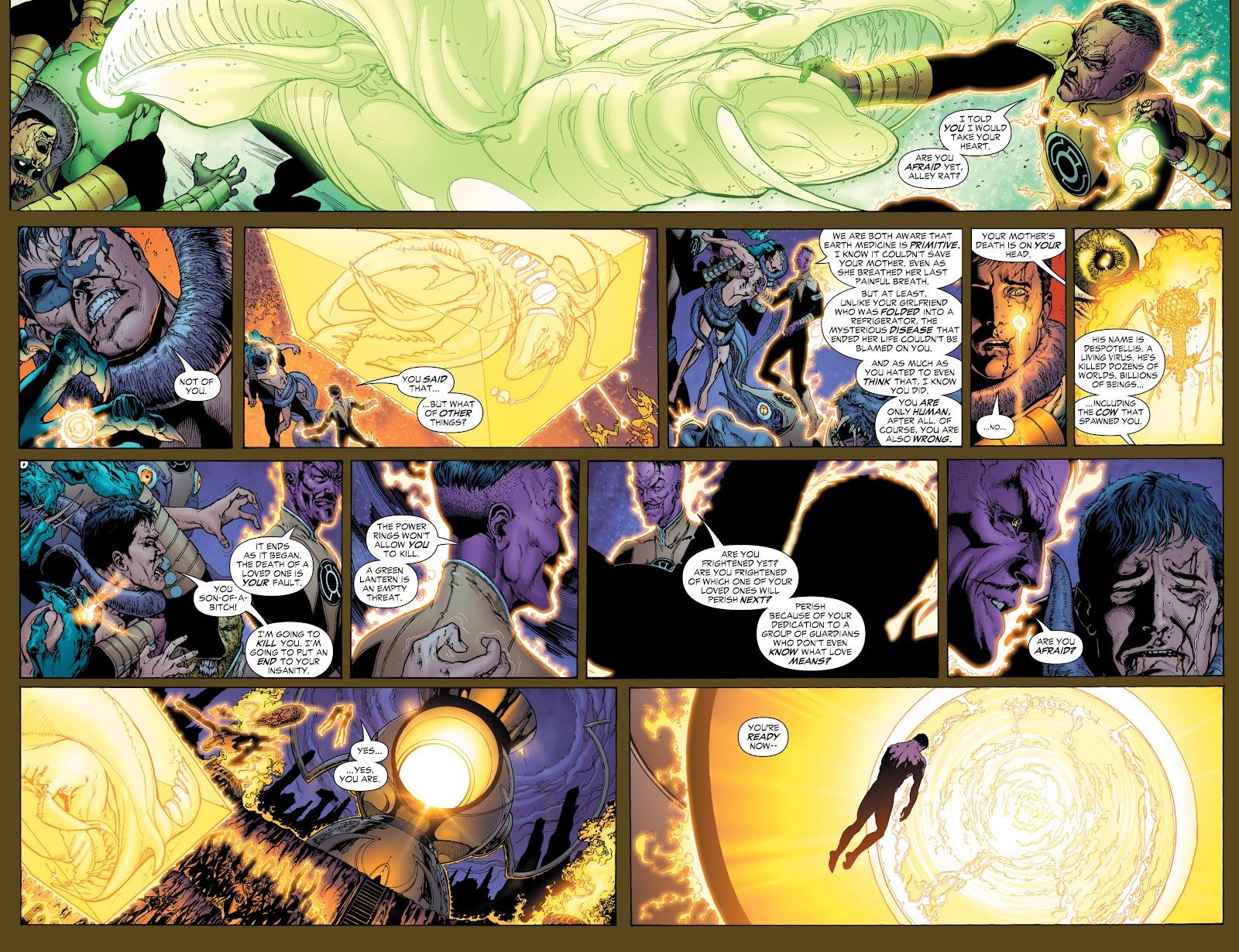 Green Lantern: The Sinestro Corps War Full #1 - English 43