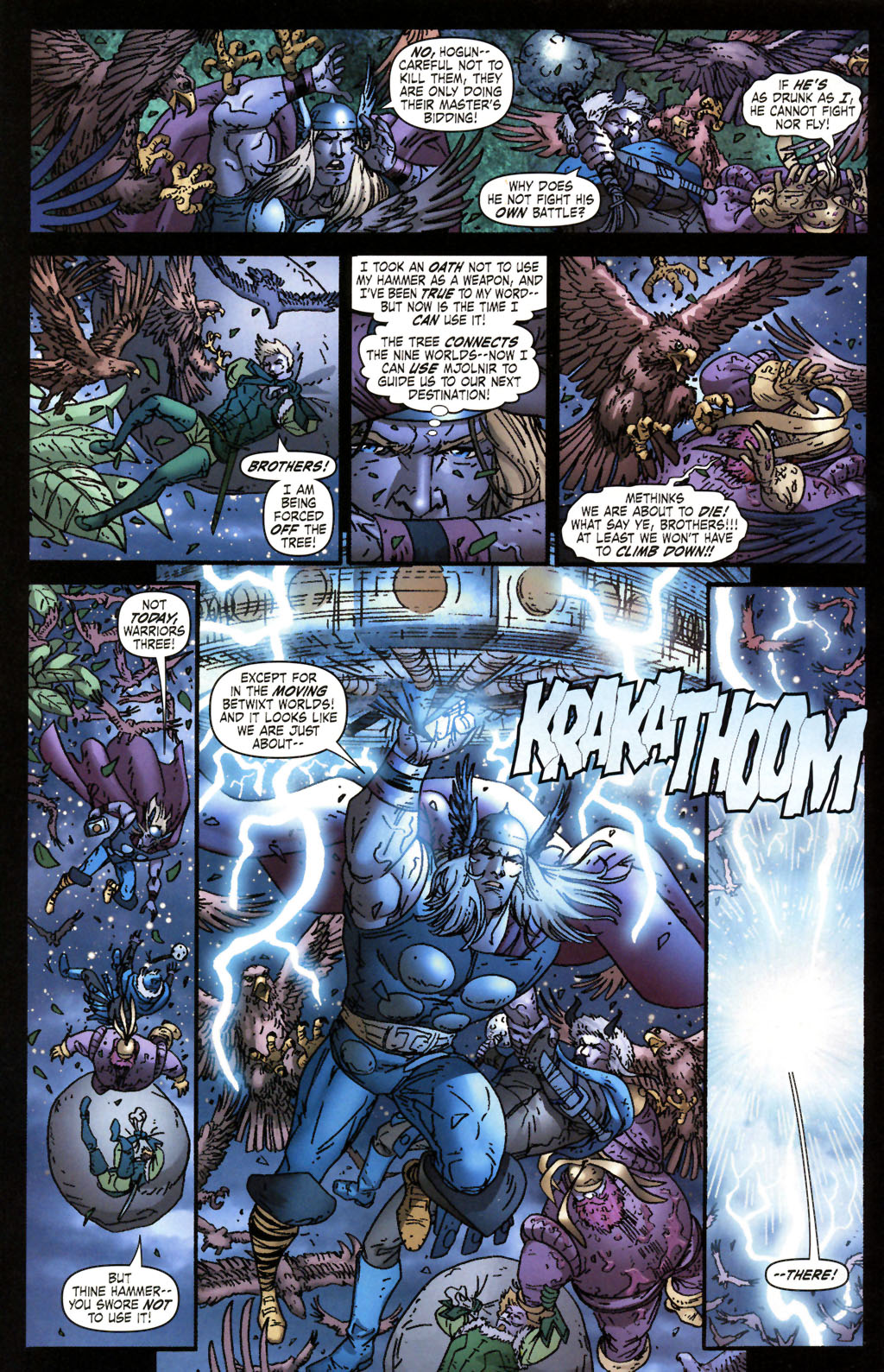 Read online Thor: Blood Oath comic -  Issue #2 - 15