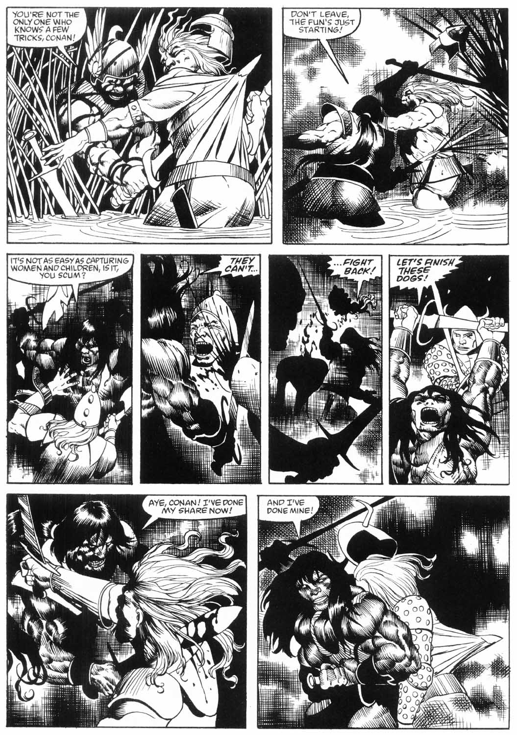 The Savage Sword Of Conan Issue #157 #158 - English 23
