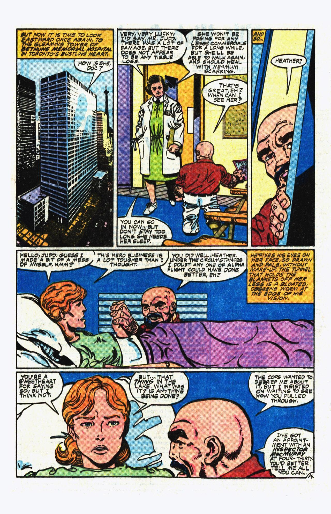Alpha Flight (1983) 14 Page 14