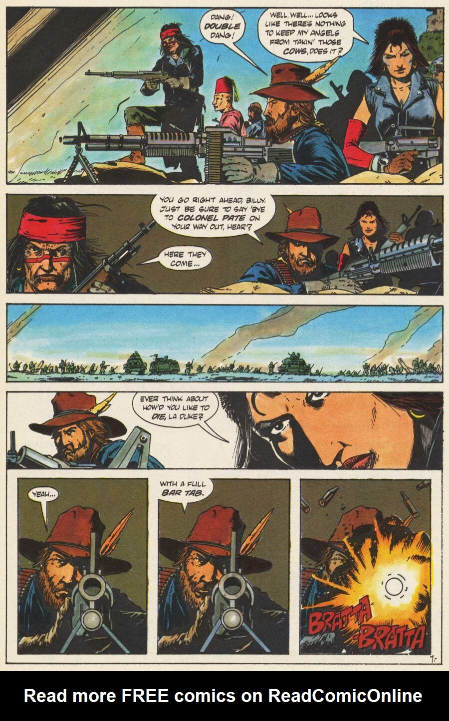 Read online Scout comic -  Issue #10 - 9