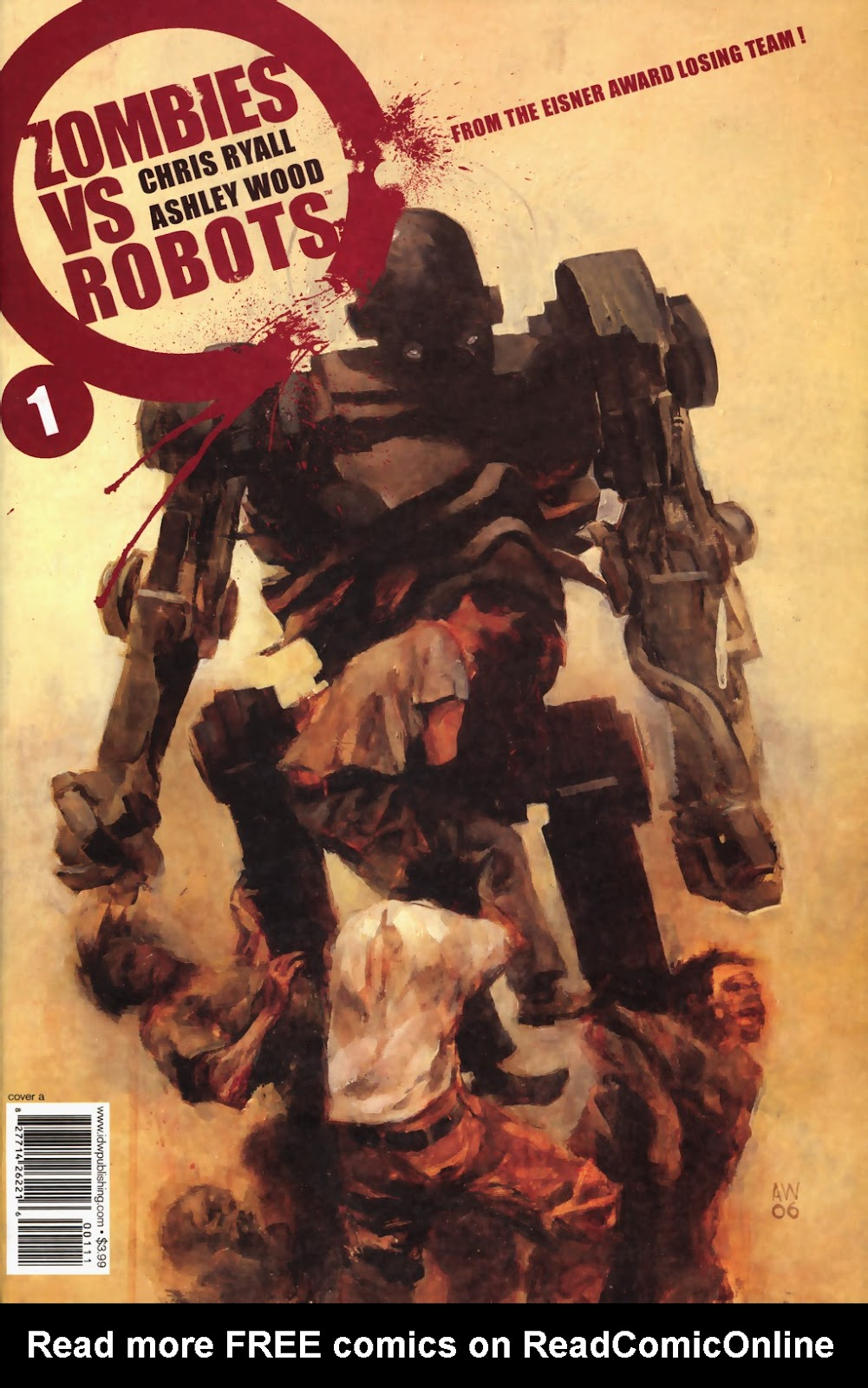 Zombies vs. Robots (2006) Issue #1 Page 1