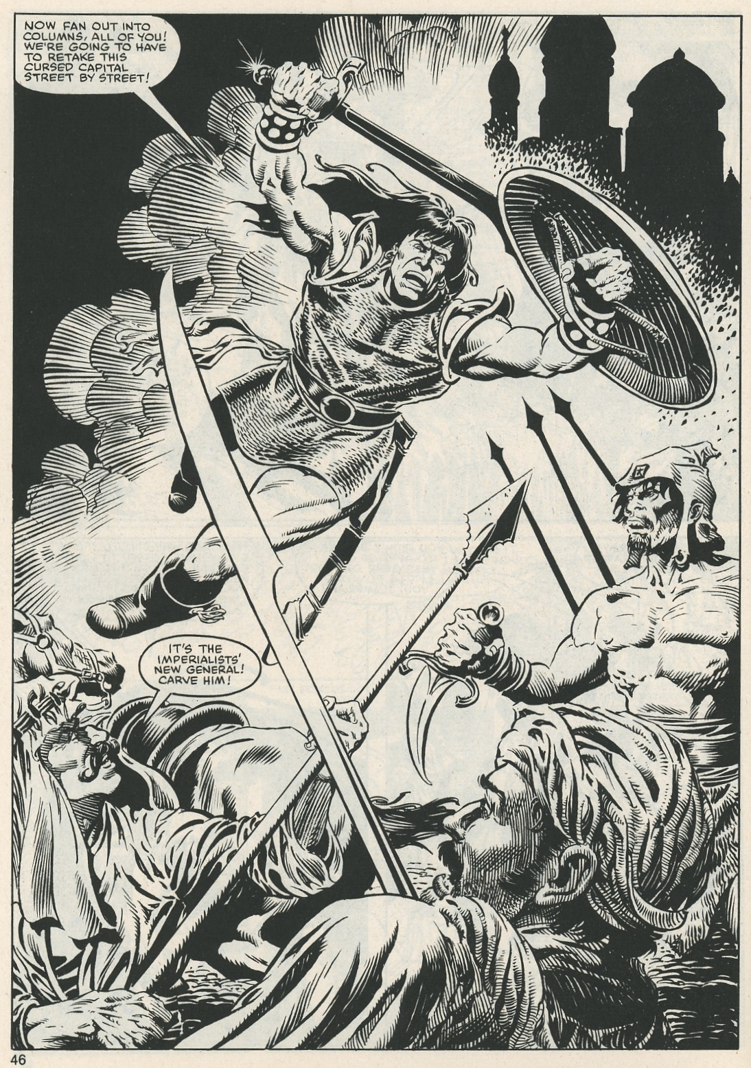 The Savage Sword Of Conan Issue #112 #113 - English 47