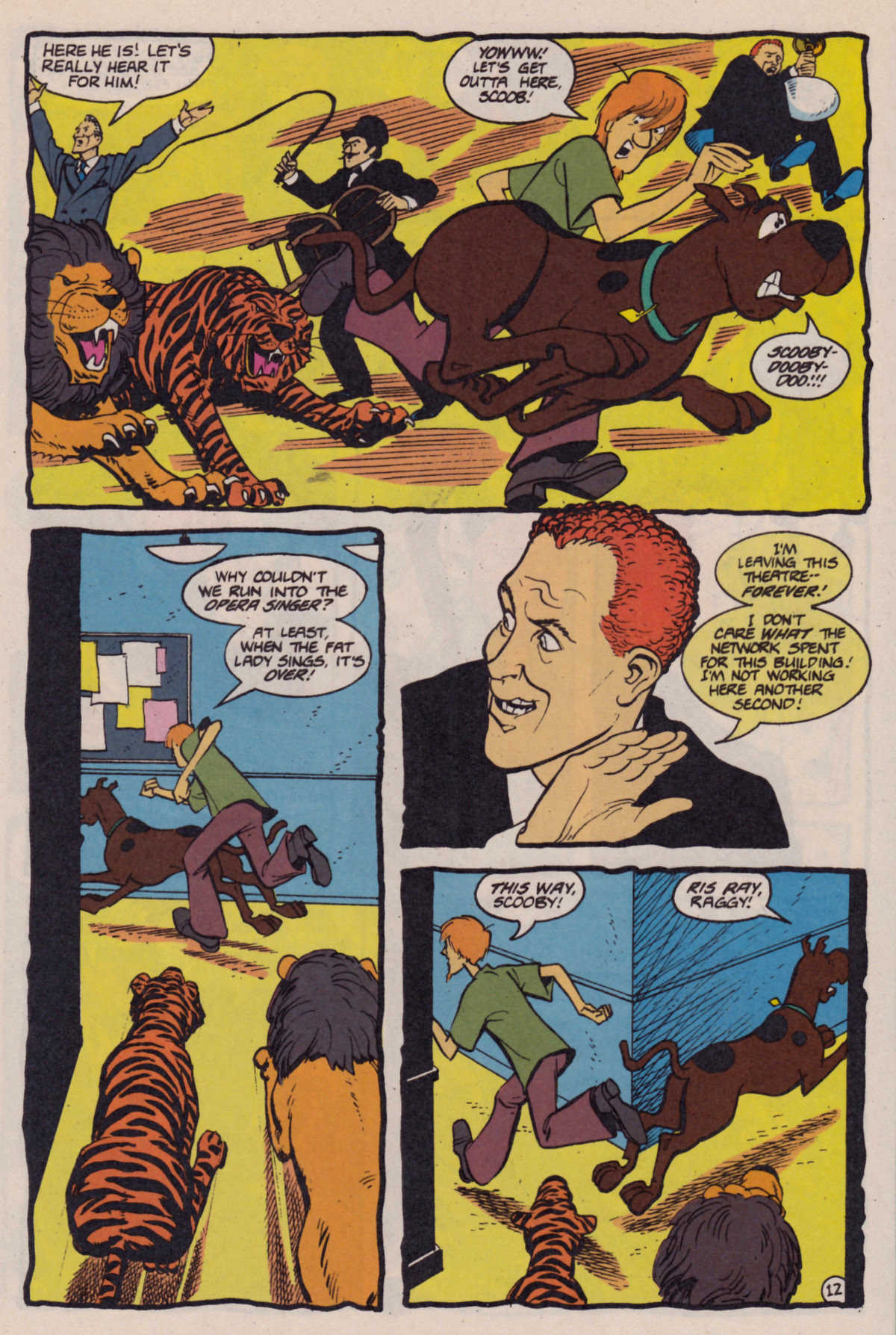 Read online Scooby-Doo (1995) comic -  Issue #10 - 13