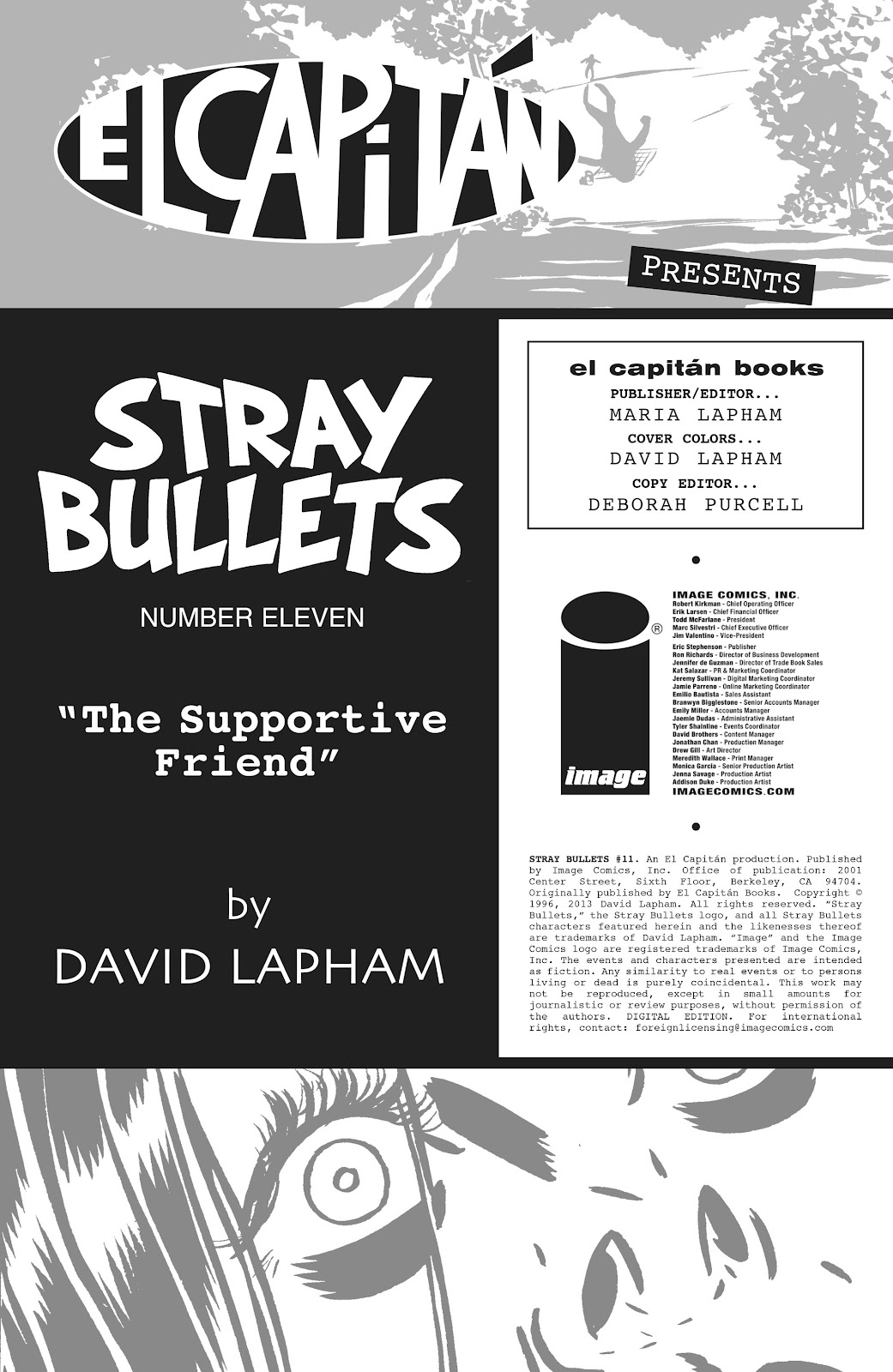 Stray Bullets Issue #11 #11 - English 2