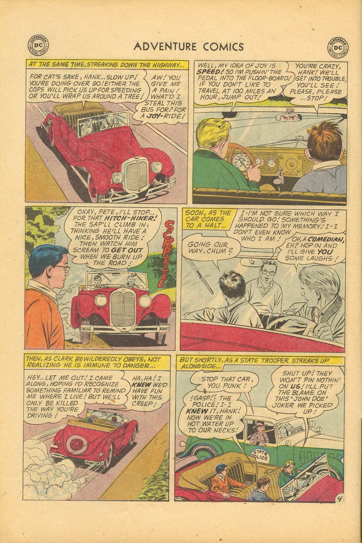 Read online Adventure Comics (1938) comic -  Issue #284 - 6