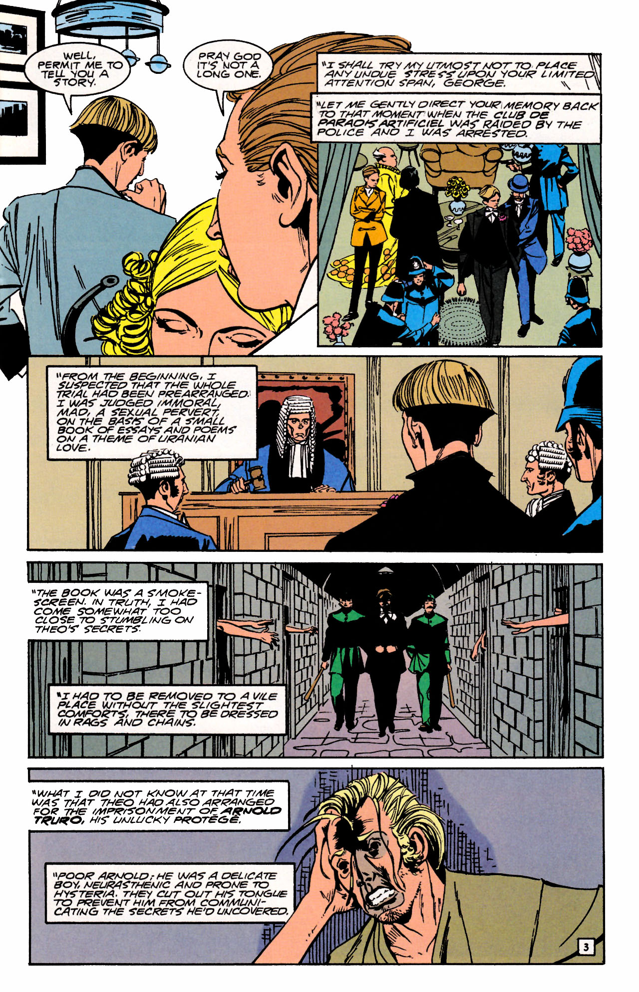 Read online Sebastian O comic -  Issue #3 - 5