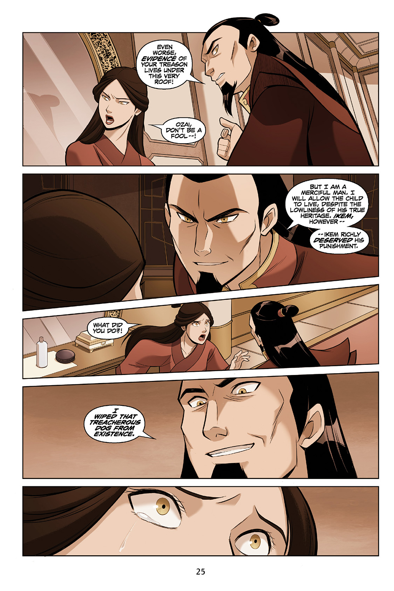 Read online Nickelodeon Avatar: The Last Airbender - The Search comic -  Issue # Part 2 - 26