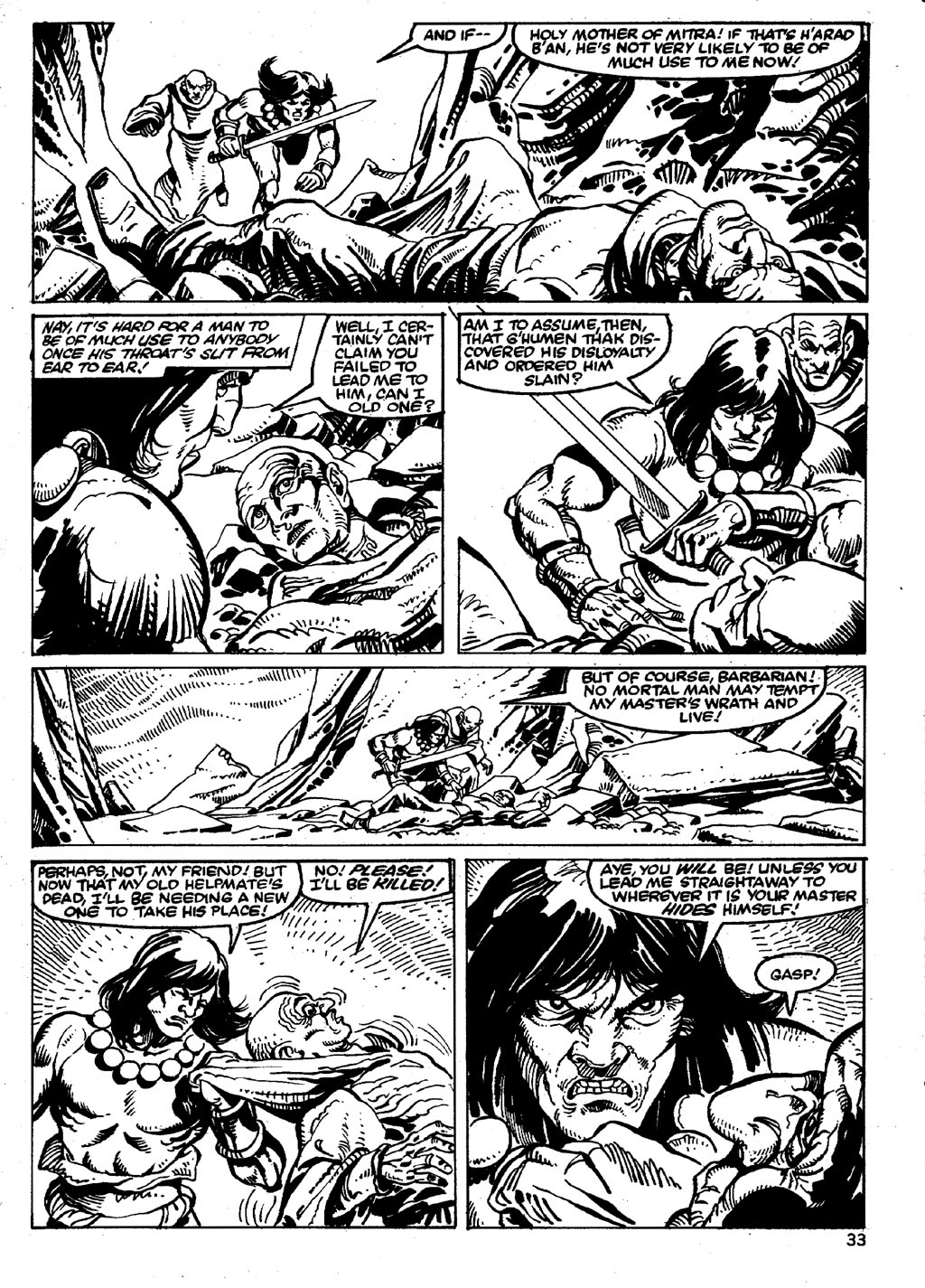 The Savage Sword Of Conan Issue #86 #87 - English 33