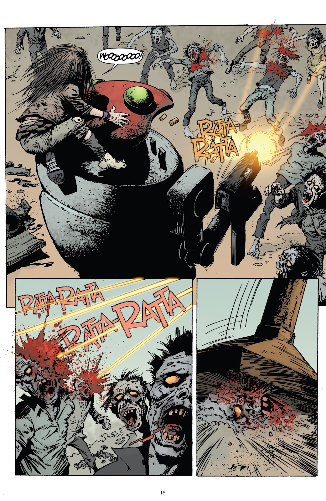 Zombies vs Robots (2015) Issue #3 Page 15
