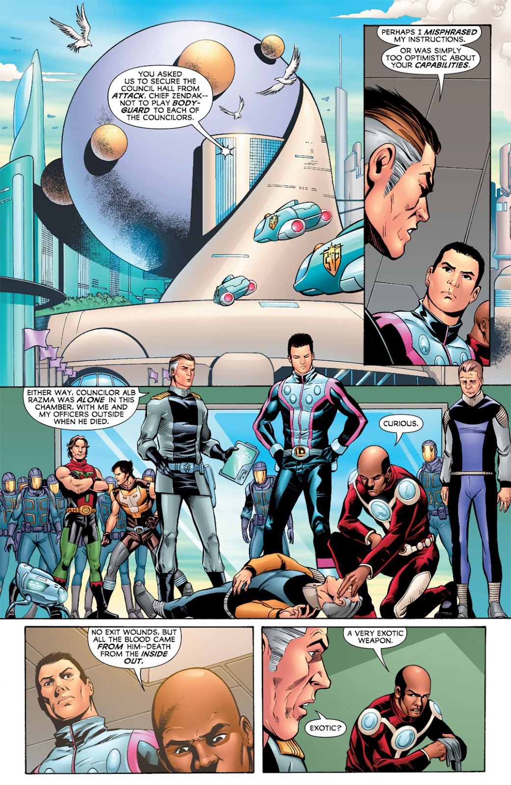 Legion of Super-Heroes (2010) Issue #7 #8 - English 4