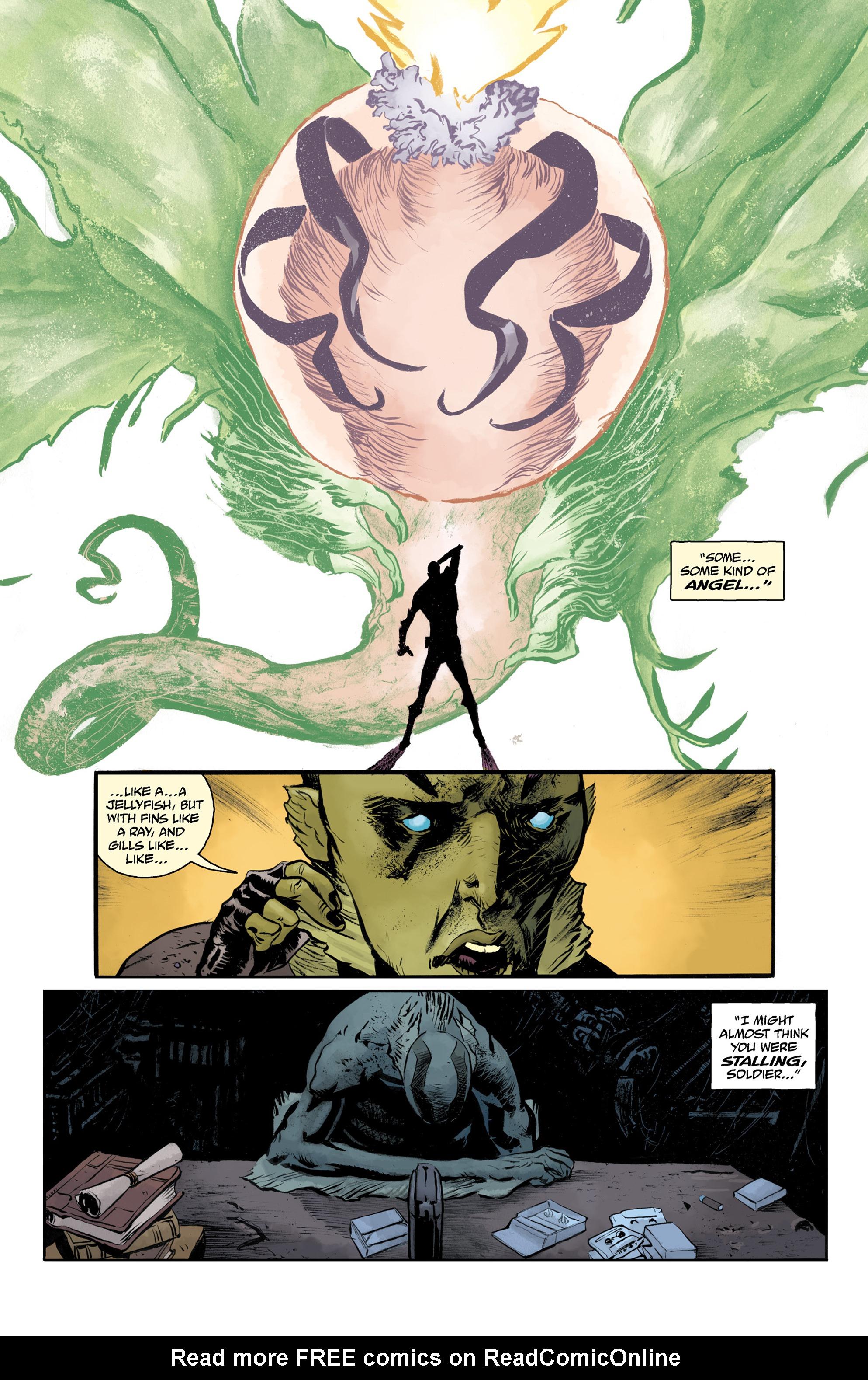 Read online Abe Sapien comic -  Issue #32 - 22