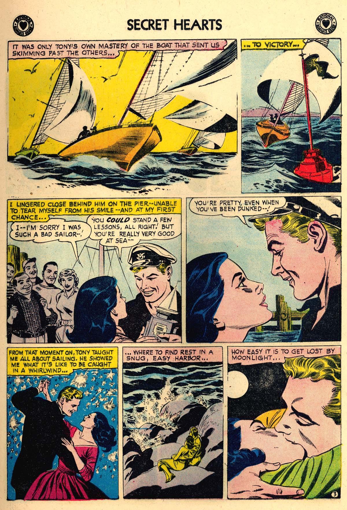 Read online Secret Hearts comic -  Issue #56 - 5