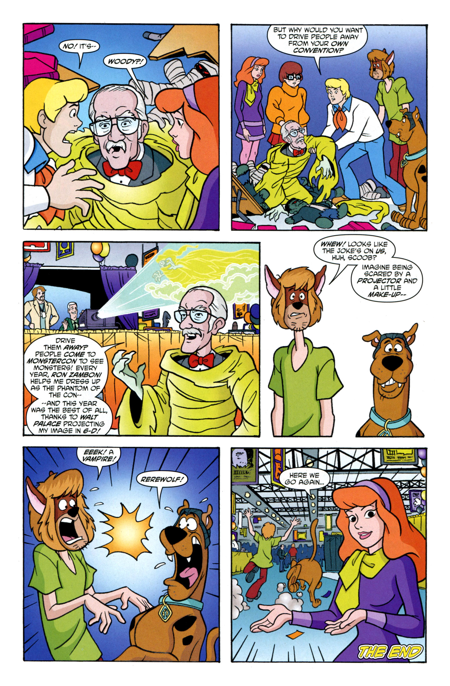 Read online Scooby-Doo: Where Are You? comic -  Issue #25 - 15