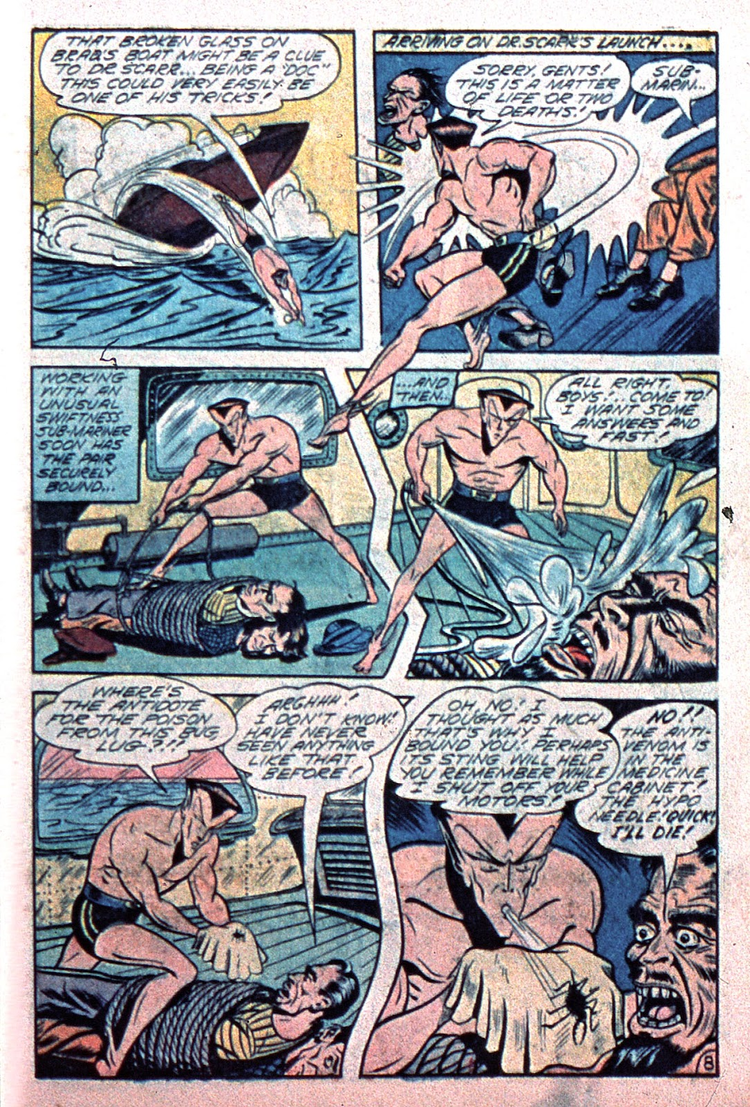 Sub-Mariner Comics Issue #15 #15 - English 37