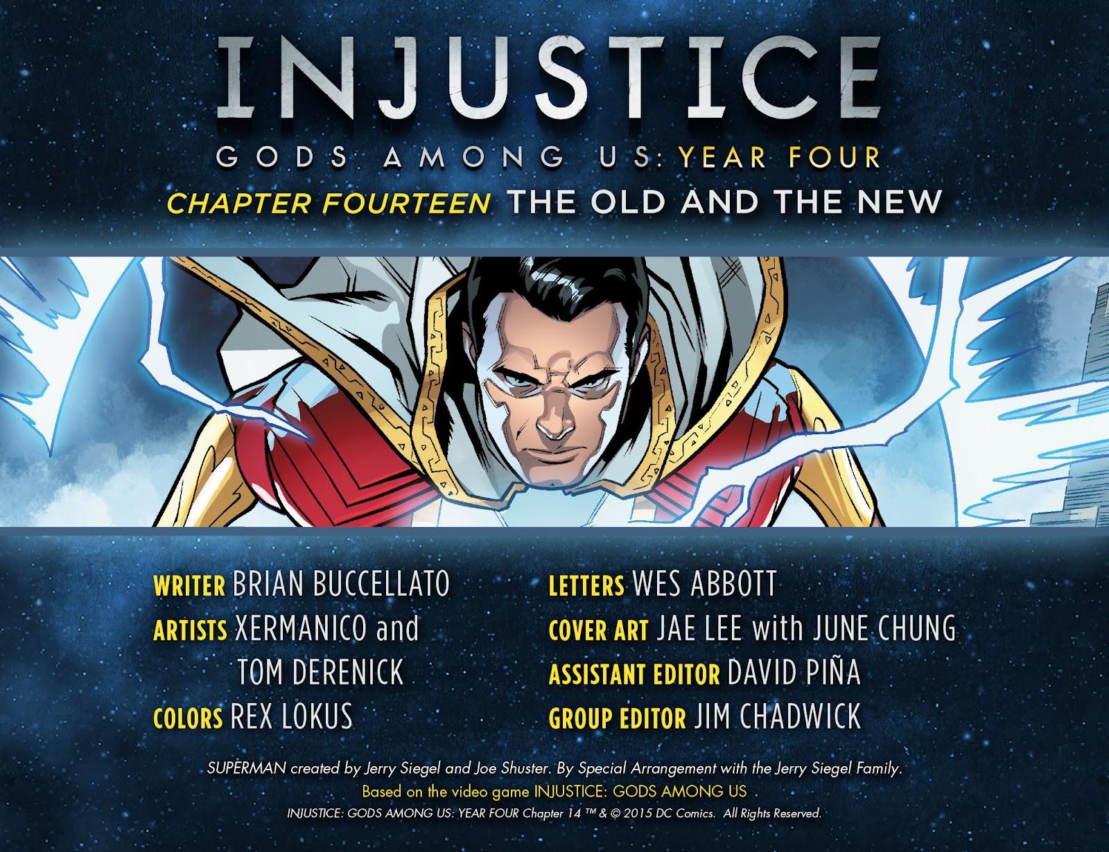 Injustice: Gods Among Us Year Four Issue #14 #15 - English 3