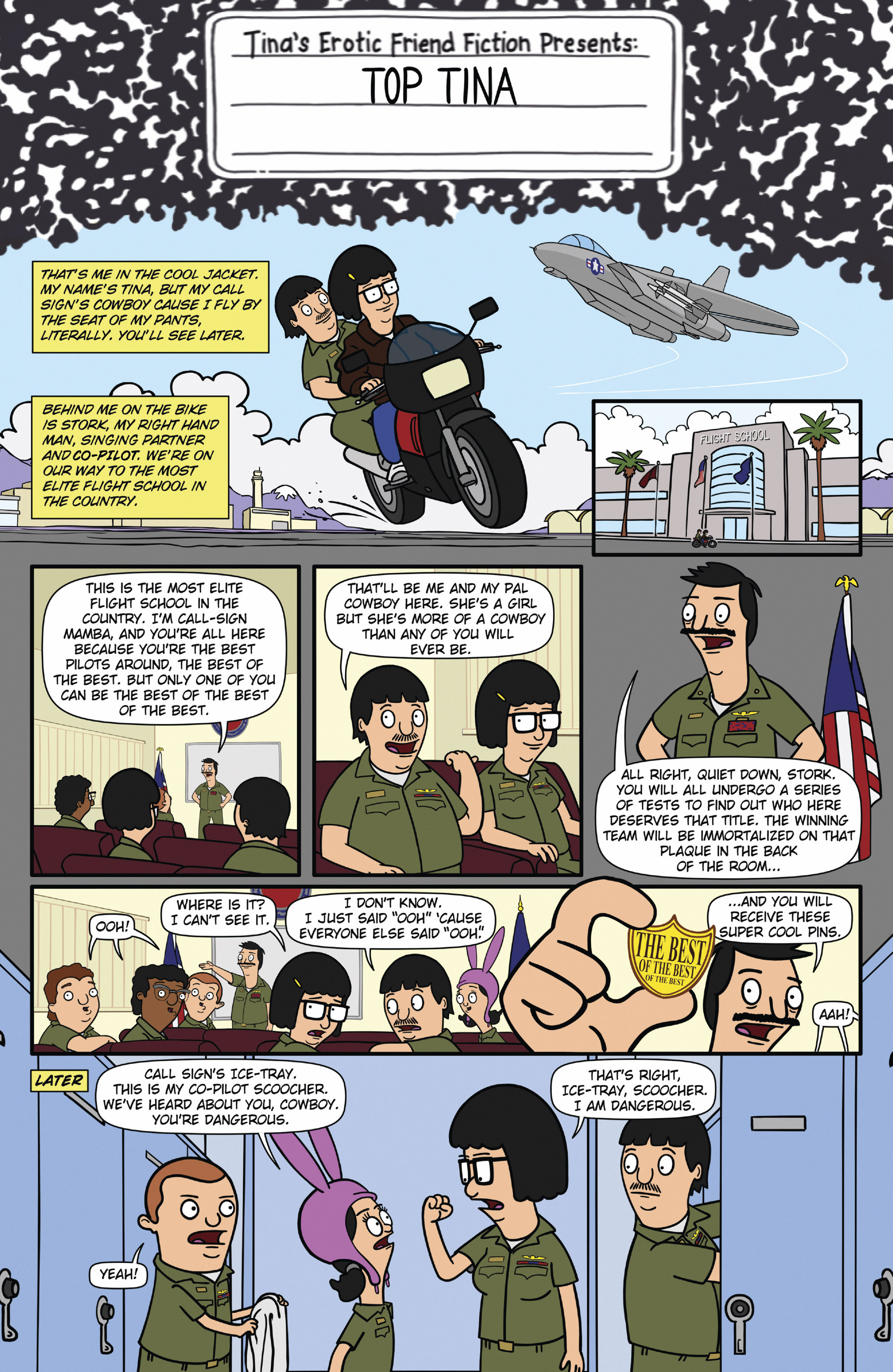 Read online Bob's Burgers (2015) comic -  Issue #12 - 3