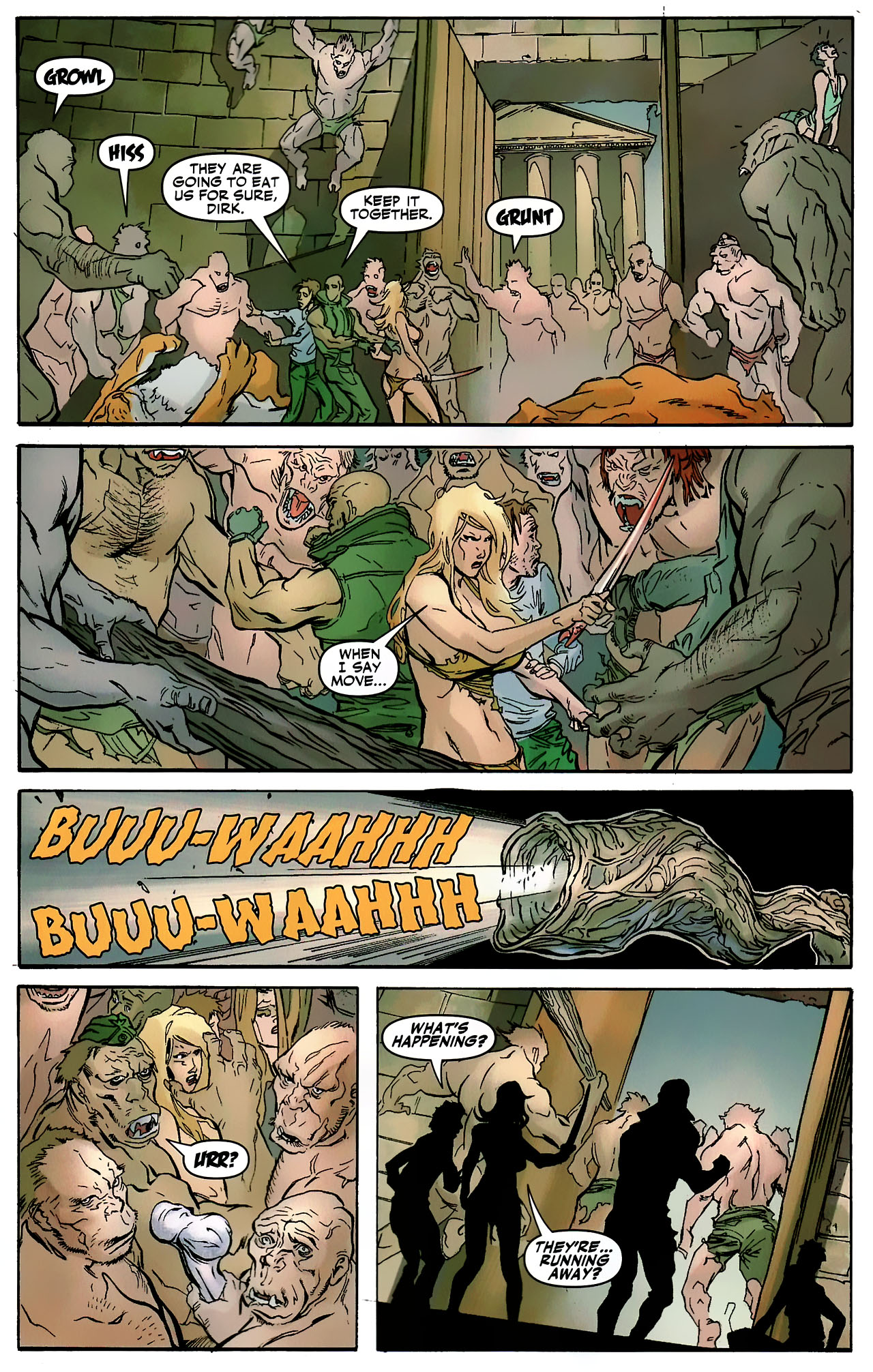 Read online Shanna the She-Devil: Survival of the Fittest comic -  Issue #3 - 9