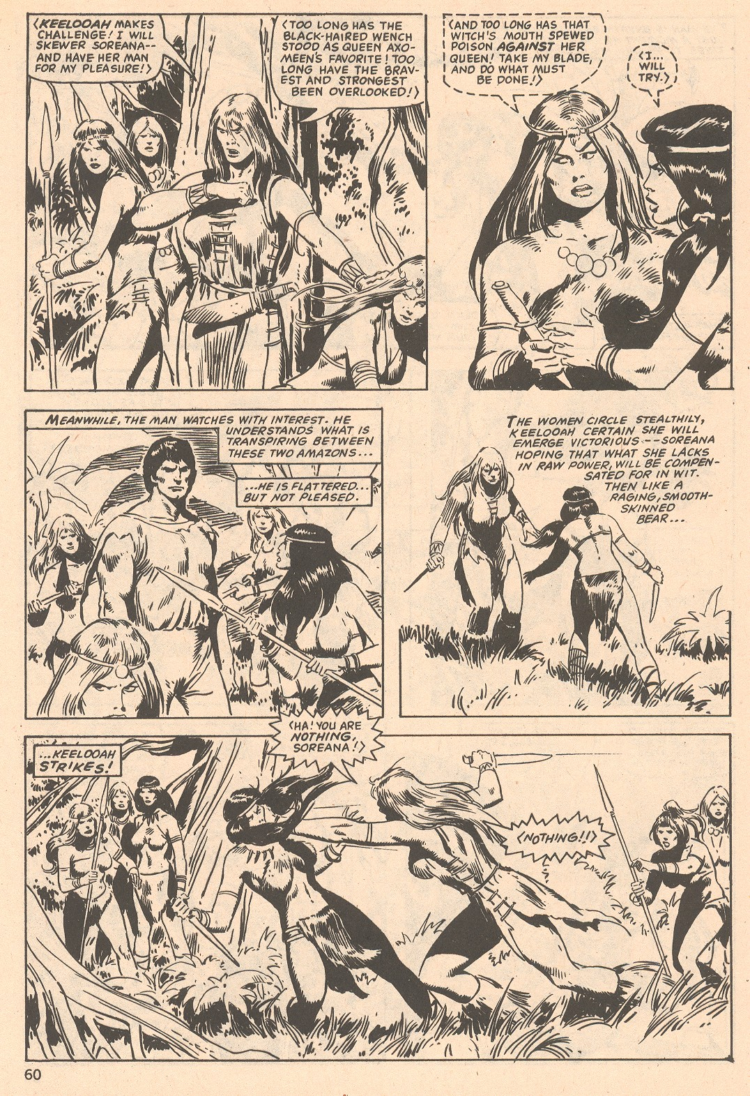 The Savage Sword Of Conan Issue #66 #67 - English 60