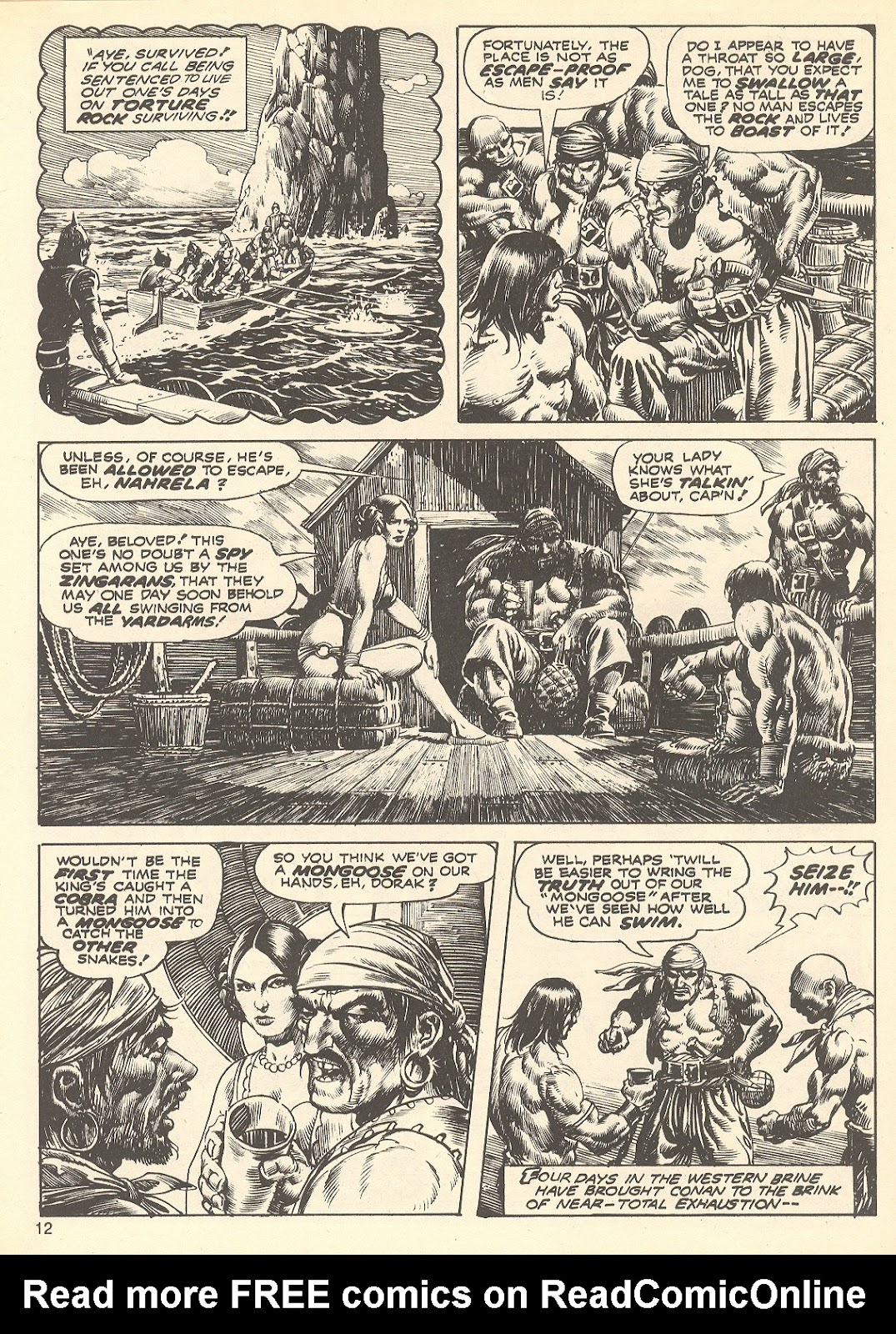 The Savage Sword Of Conan Issue #75 #76 - English 12