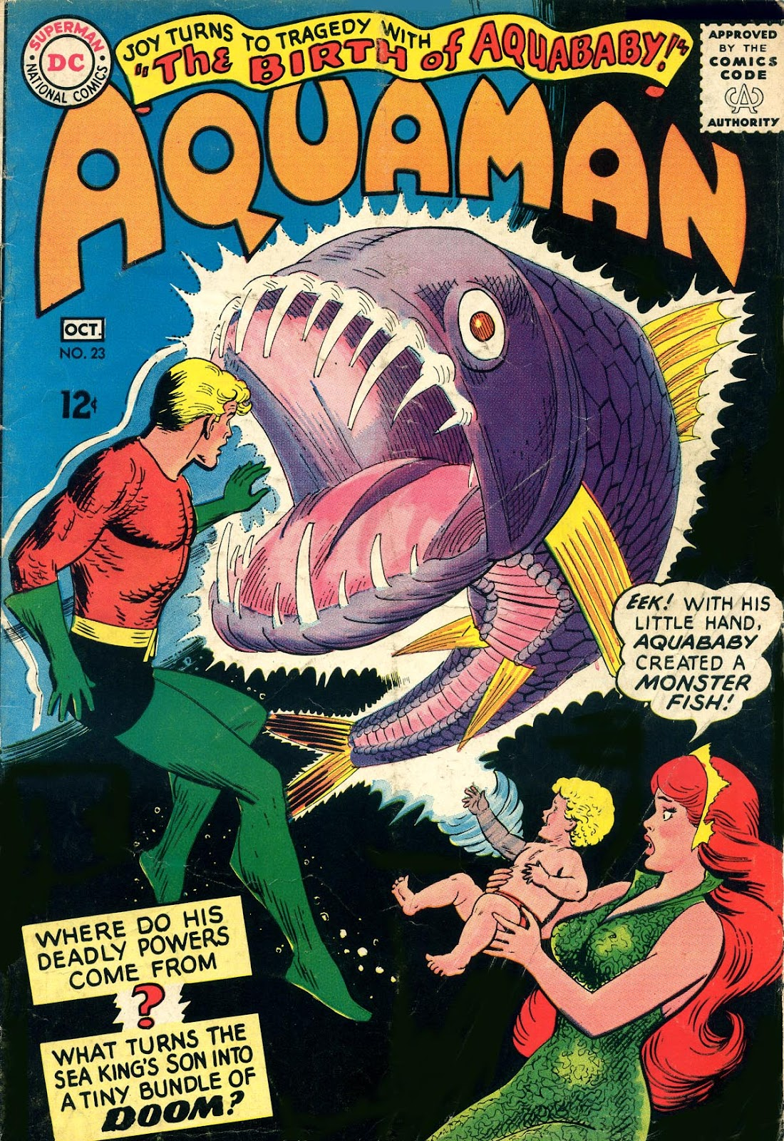 Aquaman (1962) Issue #23 #23 - English 1