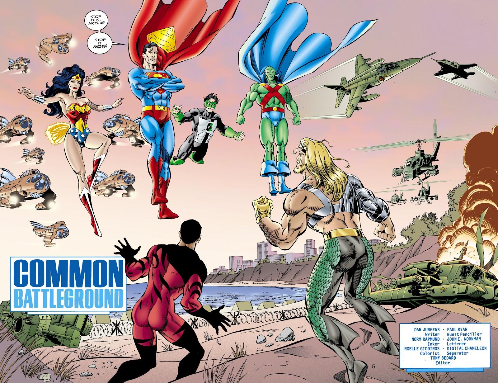 Aquaman (1994) Issue #66 #72 - English 5