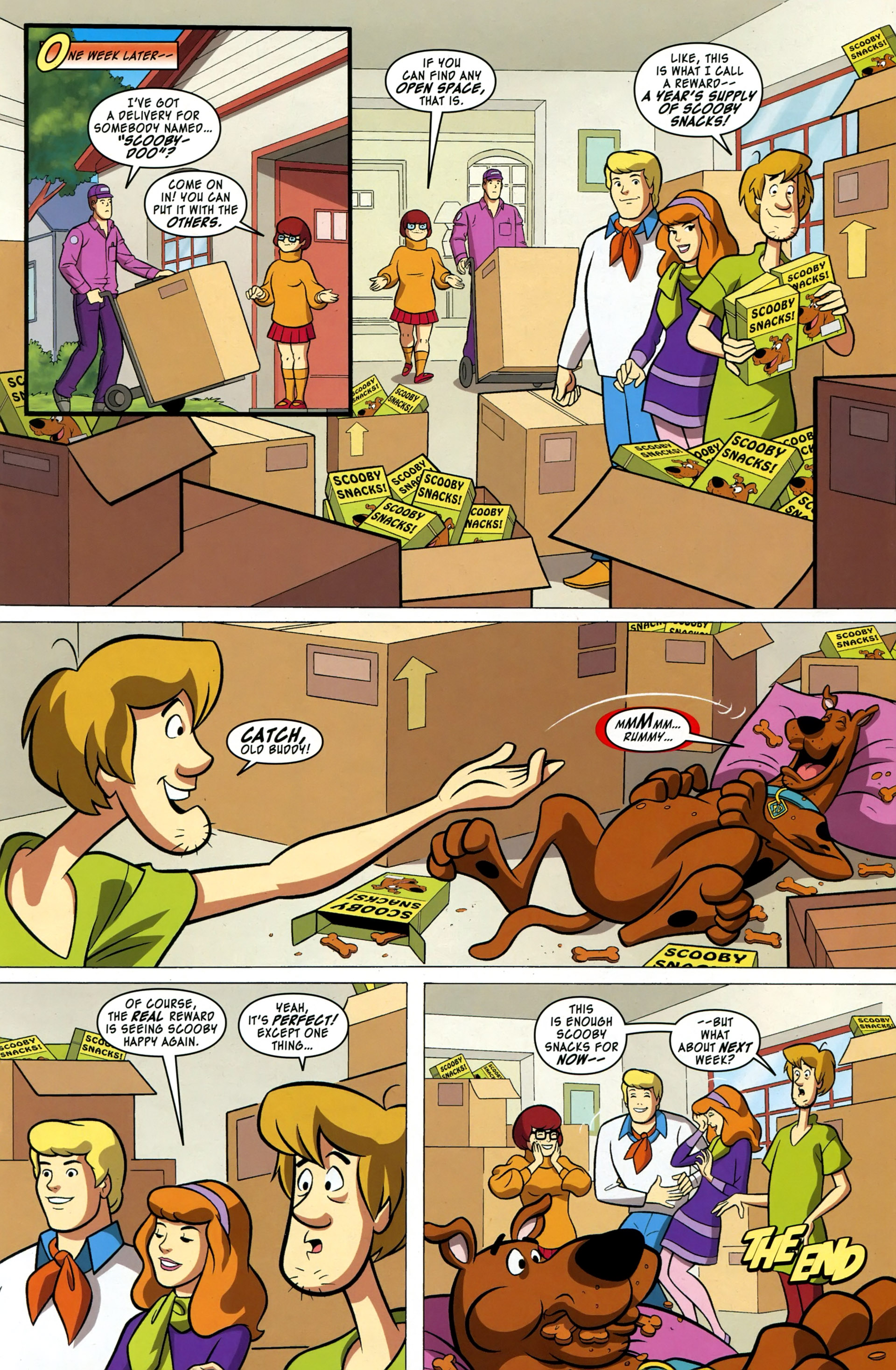 Read online Scooby-Doo: Where Are You? comic -  Issue #37 - 13