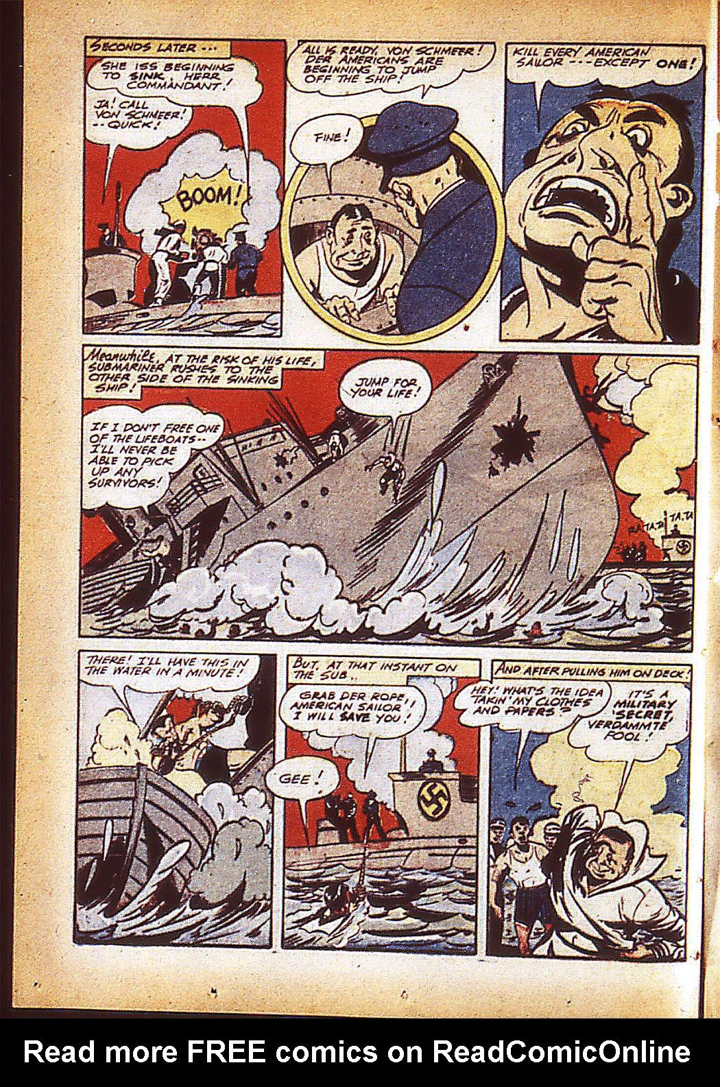 Sub-Mariner Comics Issue #10 #10 - English 29