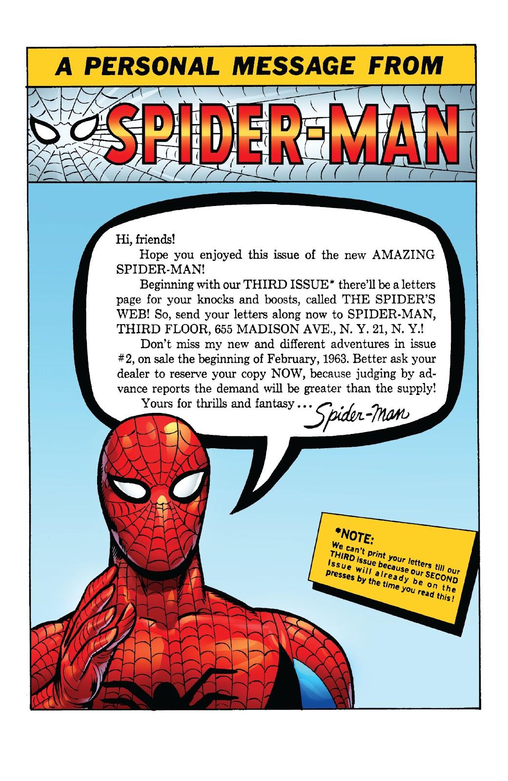 Amazing Fantasy #15: Spider-Man! Full #1 - English 40