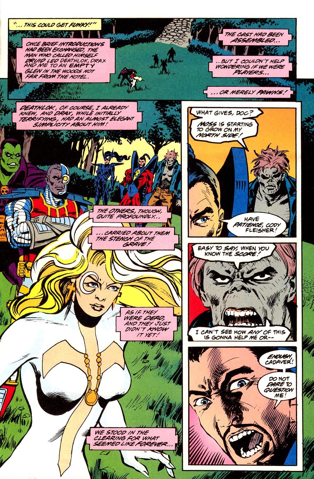 Read online Secret Defenders comic -  Issue #23 - 9