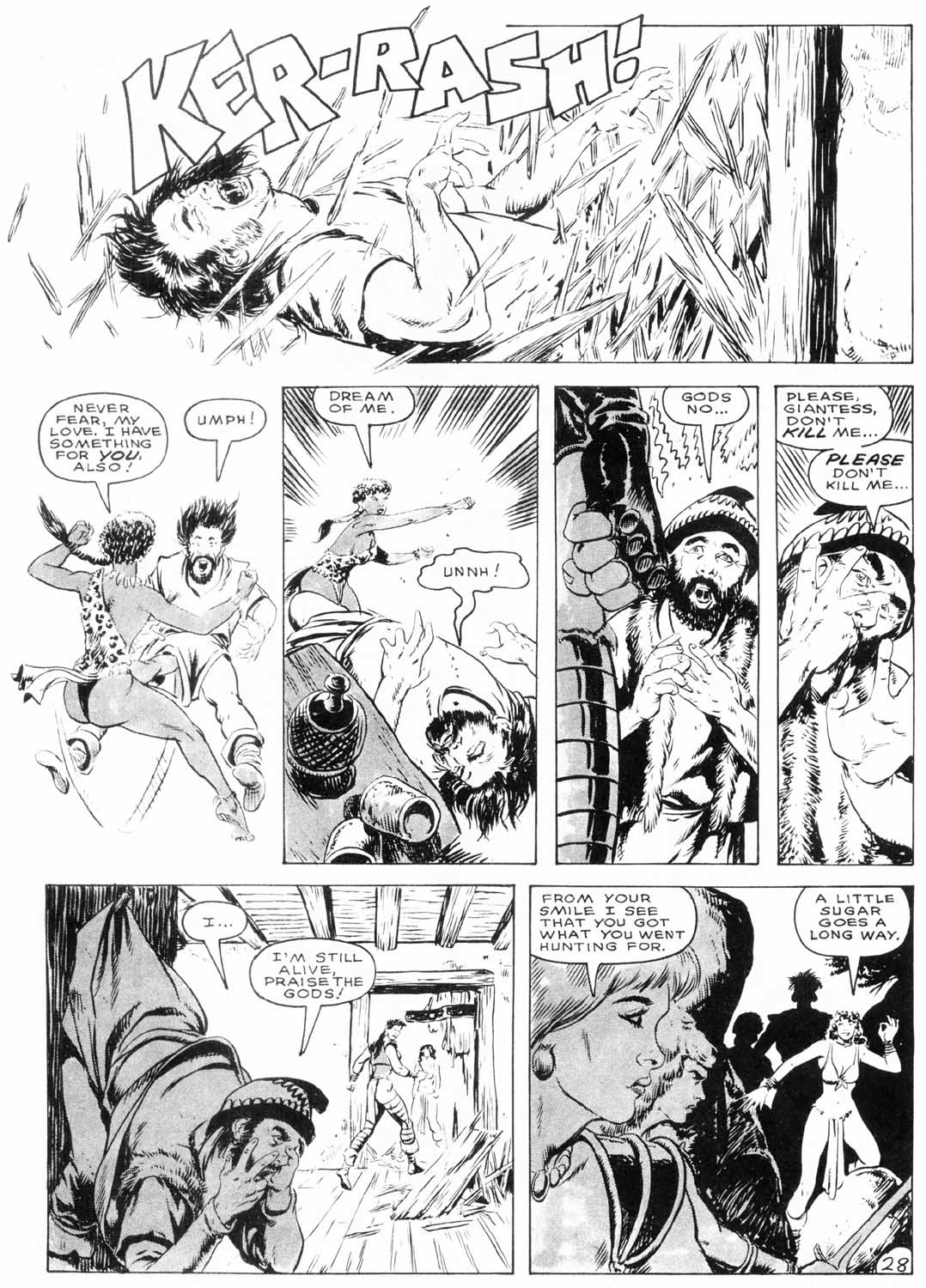 The Savage Sword Of Conan Issue #154 #155 - English 30