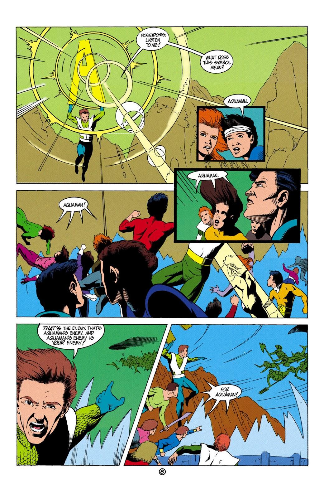 Aquaman (1991) Issue #6 #6 - English 9