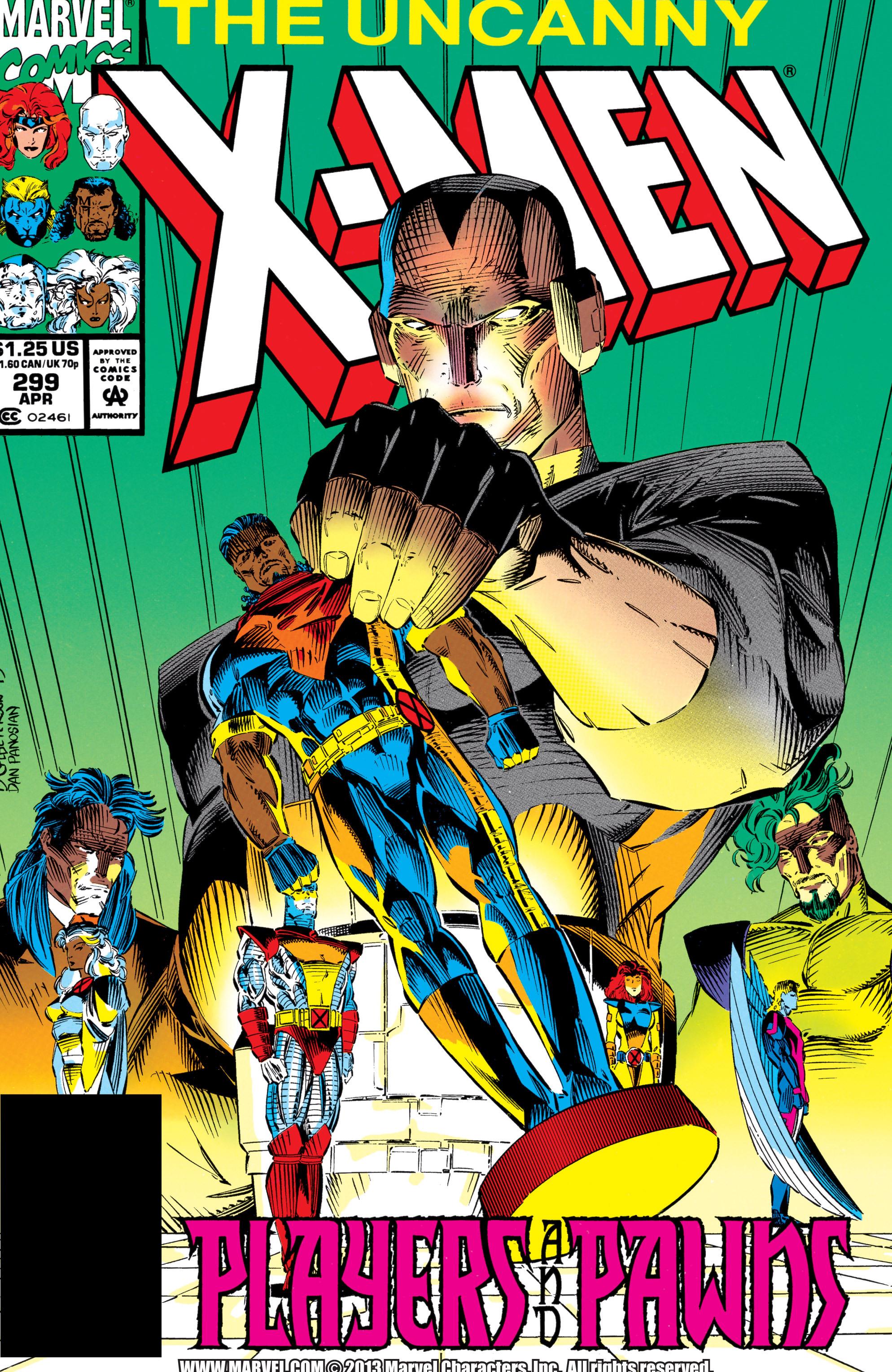 Uncanny X-Men (1963) 299 Page 1
