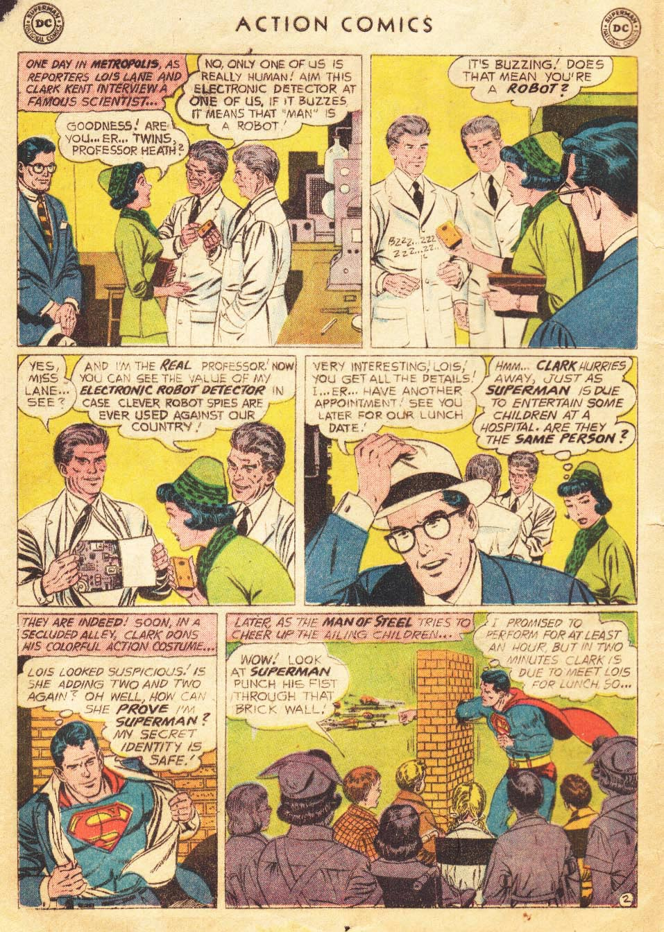 Action Comics (1938) 265 Page 3