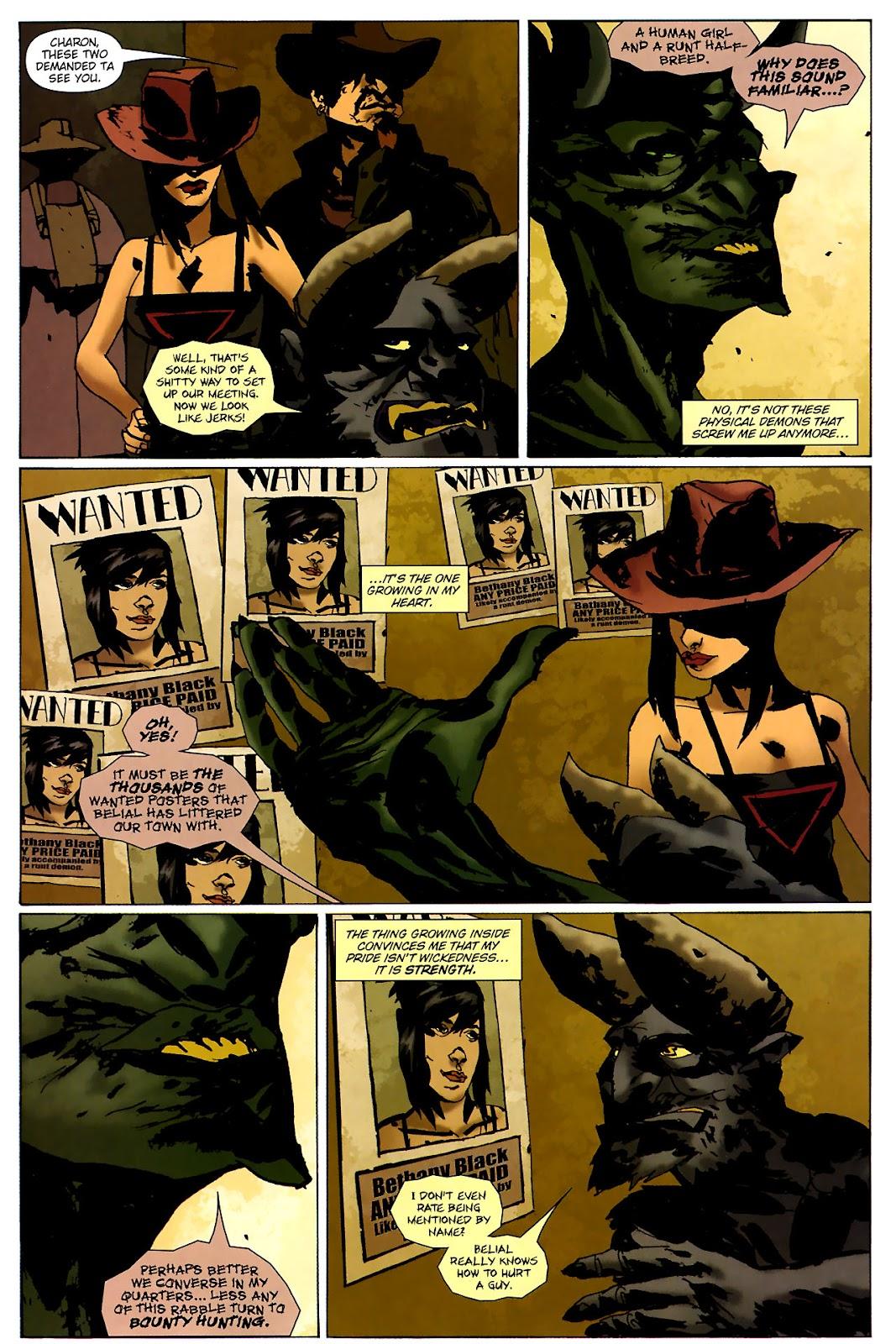 Strange Girl Issue #15 #16 - English 9