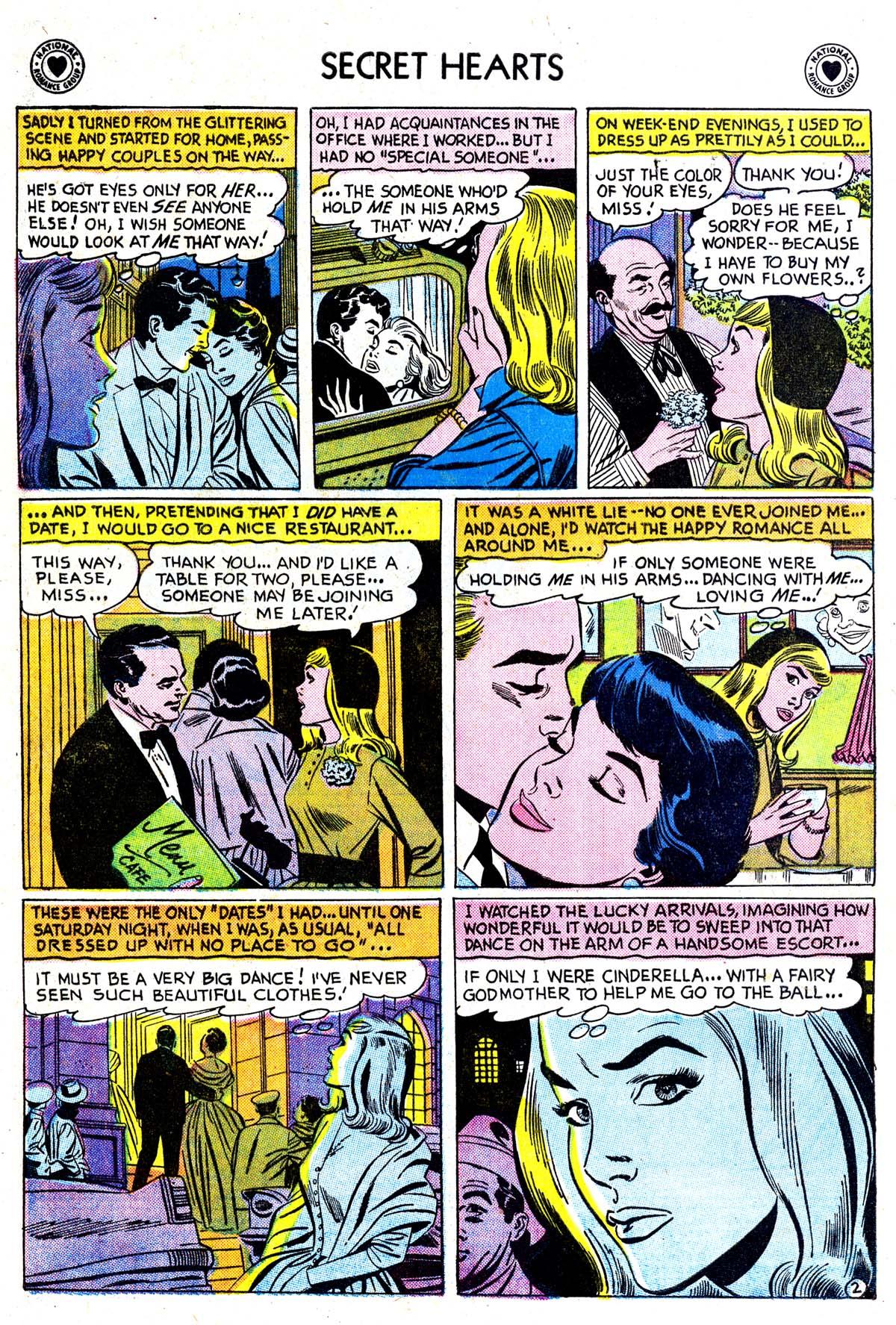 Read online Secret Hearts comic -  Issue #42 - 4