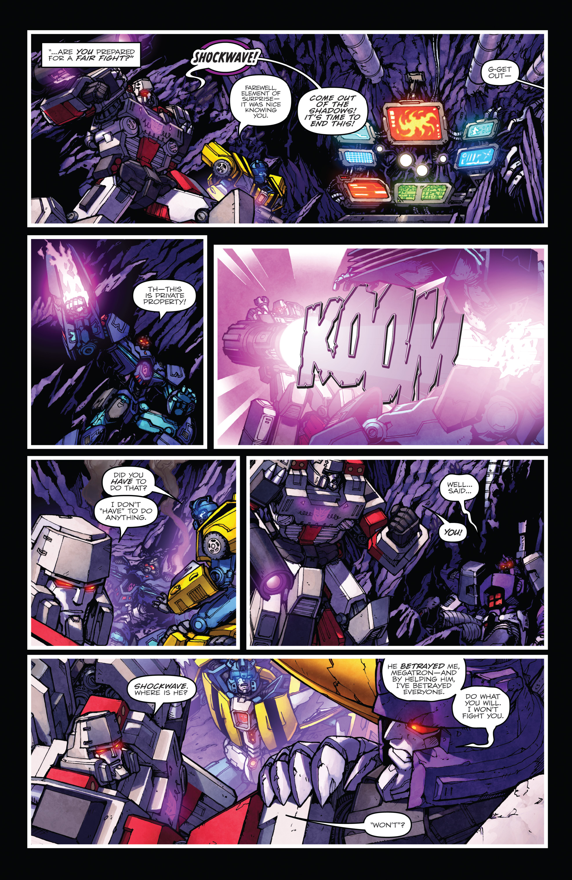 Read online The Transformers: Dark Cybertron Finale comic -  Issue # Full - 117