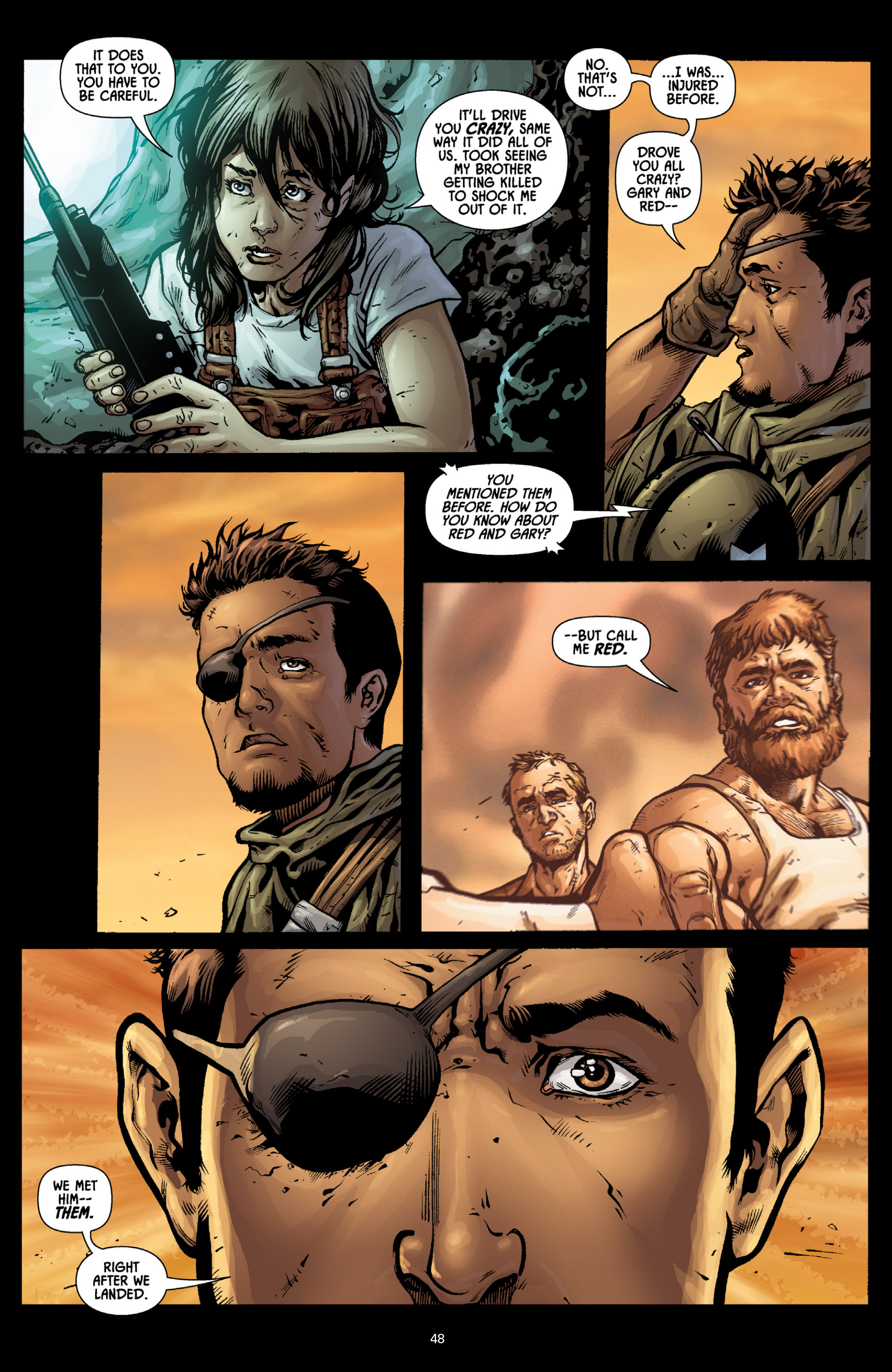 Aliens (2009) TPB Page 43