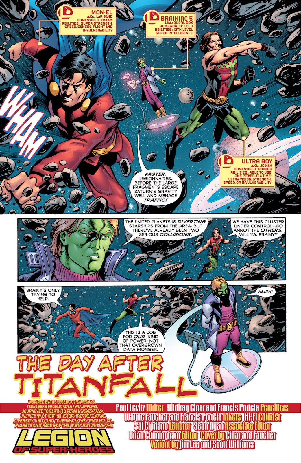 Legion of Super-Heroes (2010) Issue #2 #3 - English 3