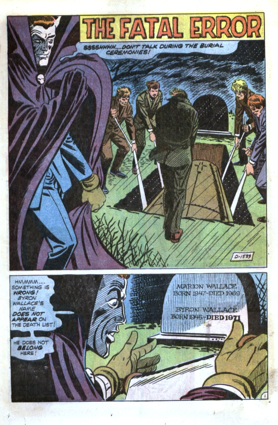 Read online Scary Tales comic -  Issue #34 - 25