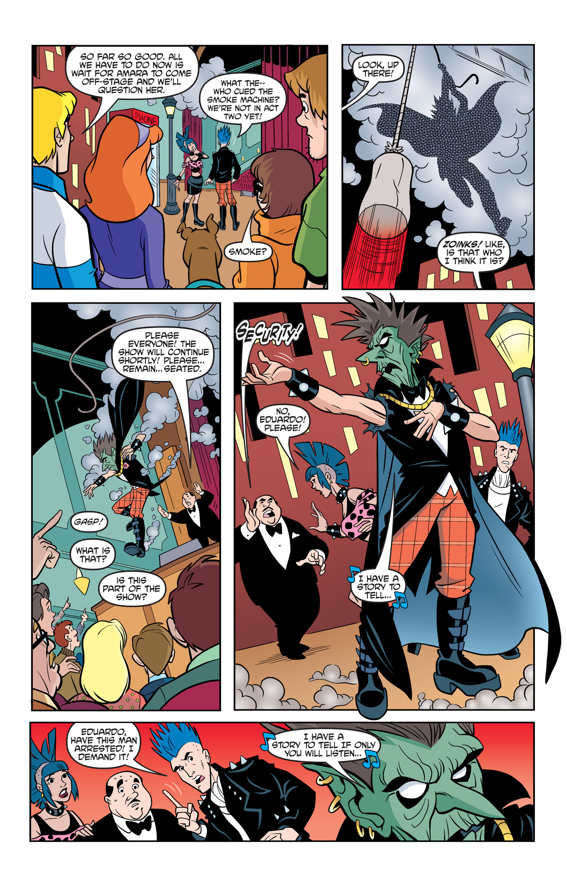Read online Scooby-Doo: Where Are You? comic -  Issue #43 - 18