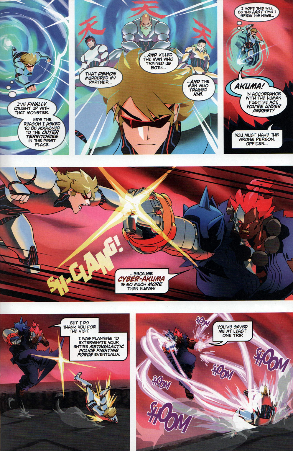 Street Fighter Unlimited Issue #10 #12 - English 24