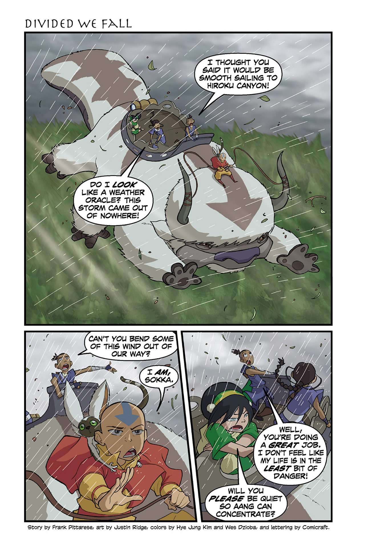 Nickelodeon Avatar: The Last Airbender - The Lost Adventures chap full pic 57
