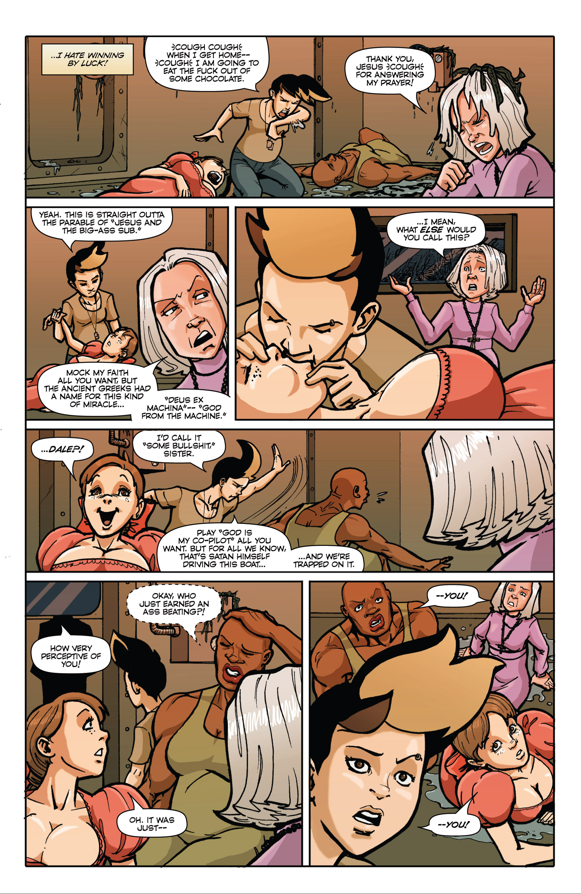 Read online Pregnant Bitches of War comic -  Issue #3 - 12