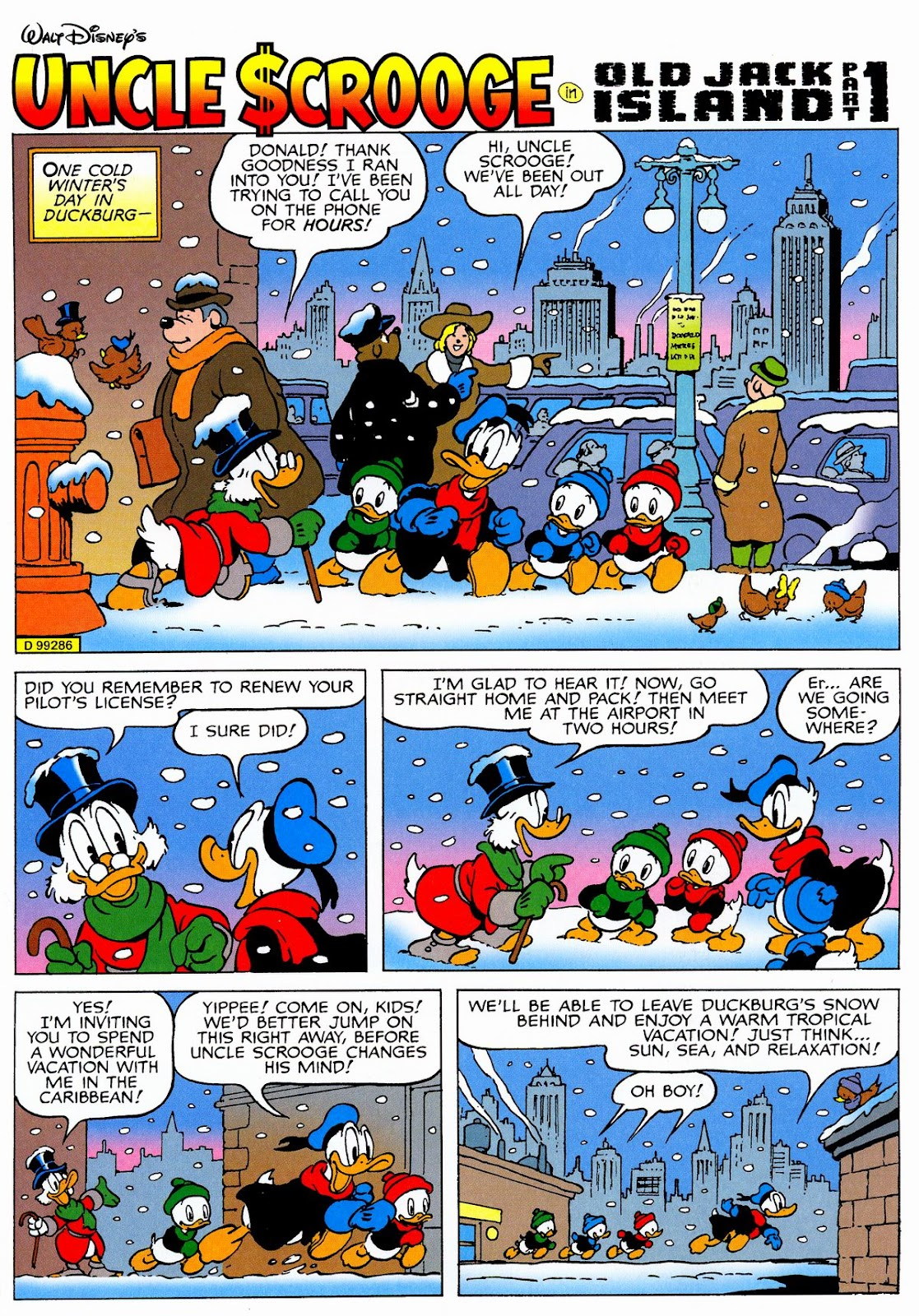 Uncle Scrooge (1953) Issue #326 #326 - English 3