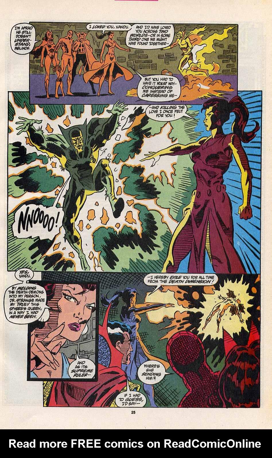 Read online Secret Defenders comic -  Issue #8 - 19