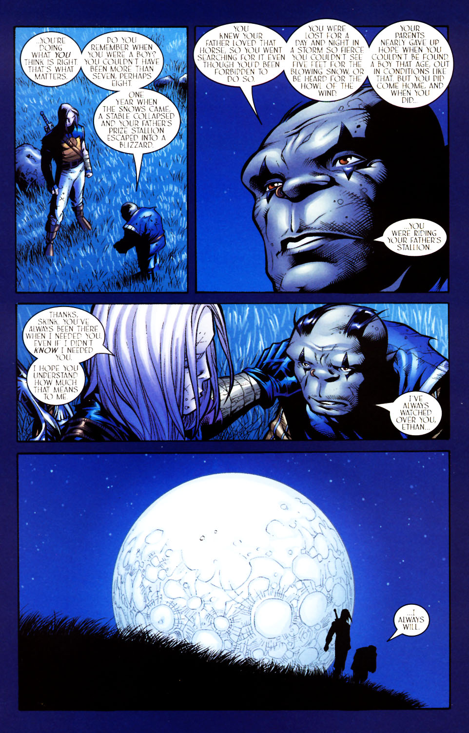 Read online Scion comic -  Issue #4 - 13