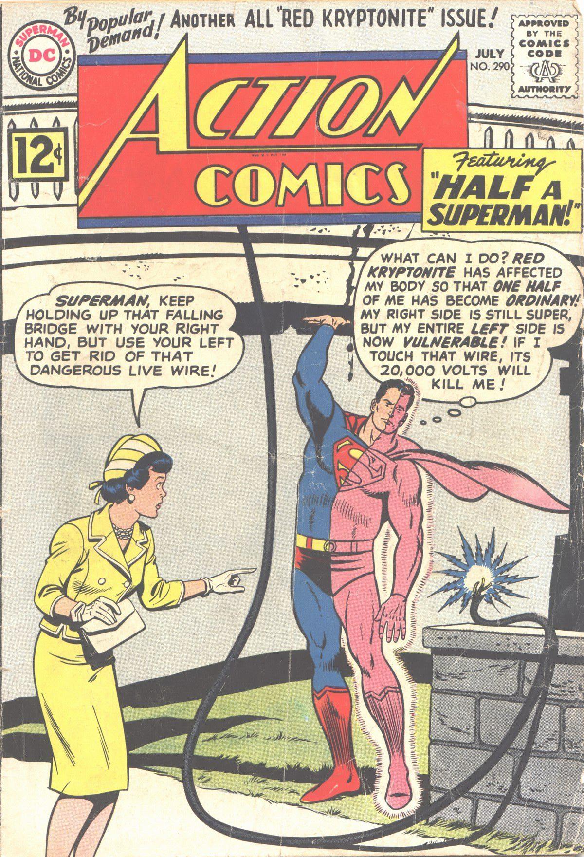 Action Comics (1938) 290 Page 1
