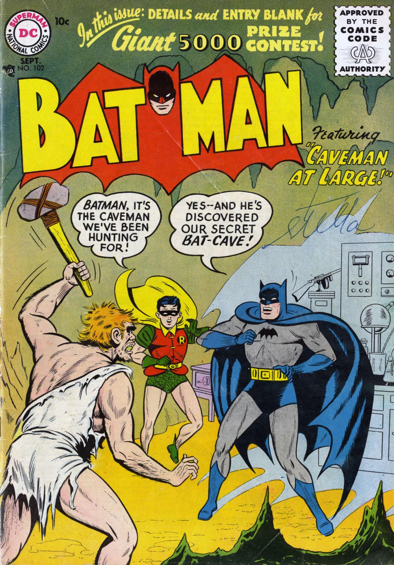 Batman (1940) 102 Page 1